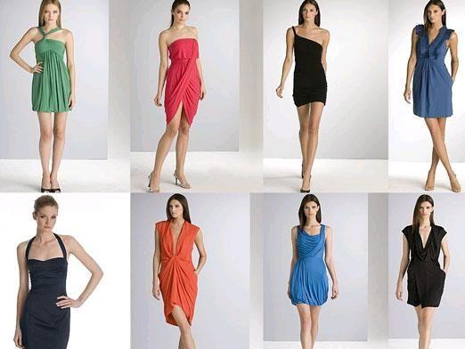 С чем одеть платье?