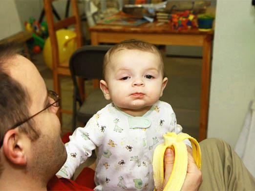 С какого возраста можно банан?