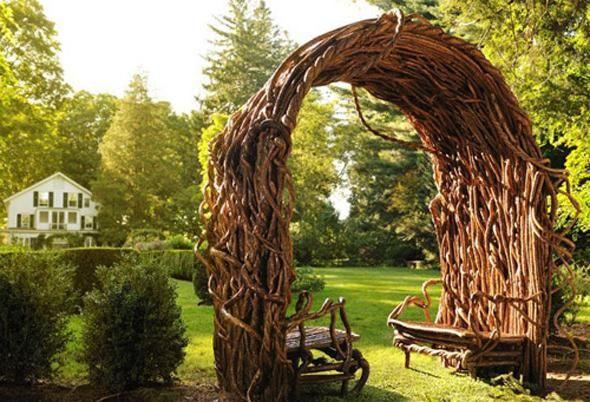 Дерев'яні садові вироби
