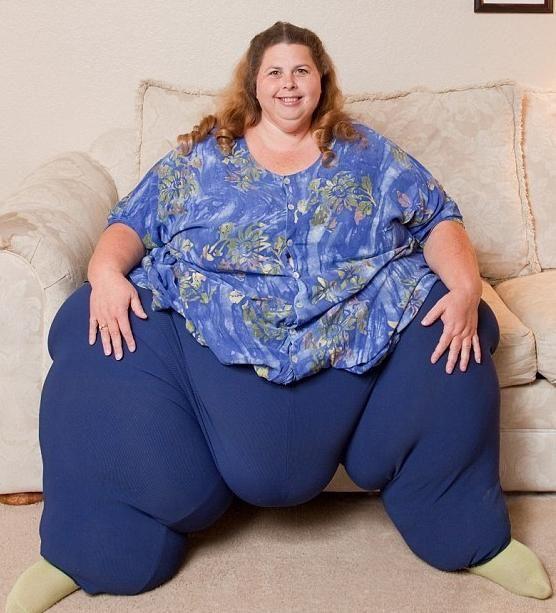 Самые толстые женщины: бич современности