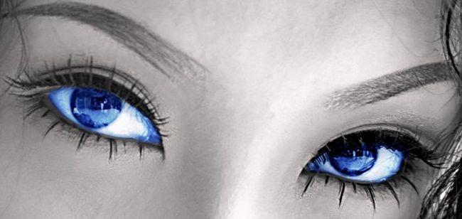 Синие глаза. характер их обладателей