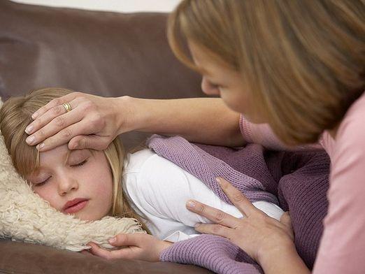 Скільки тримається температура при ангіні?