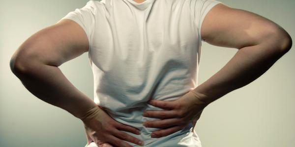 зірвав спину симптоми