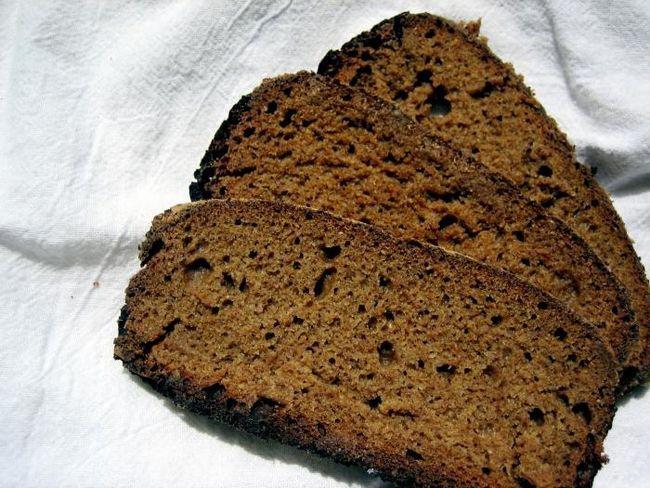 хліб житній в духовці рецепт