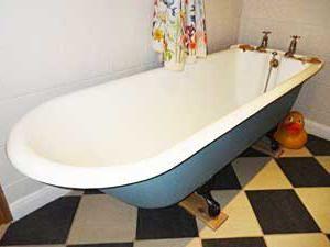 ванна акрилова або сталева