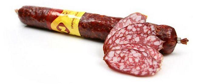 Брауншвейгская ковбаса