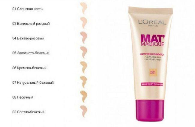 L'Oreal Mat Magique - тональний засіб для макіяжу