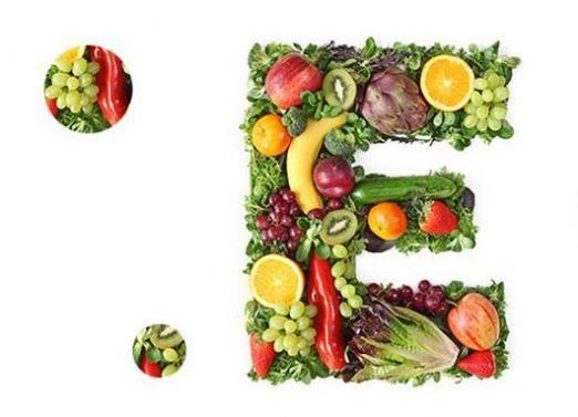 В чем содержится витамин е?