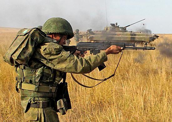 Важная составляющая вооруженных сил – мотострелковые войска