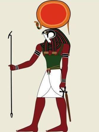 Верховный египетский бог ра