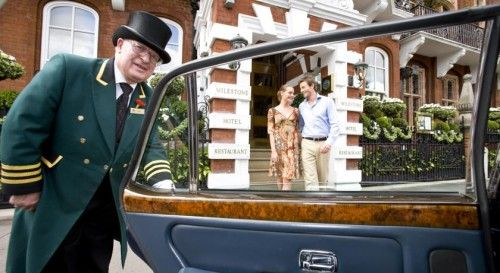 Впечатления с порога. яркие отели лондона