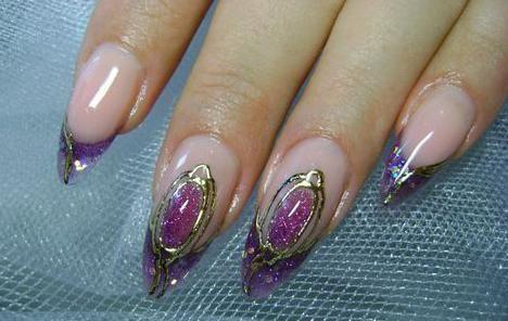 рідкі камені на нігтях